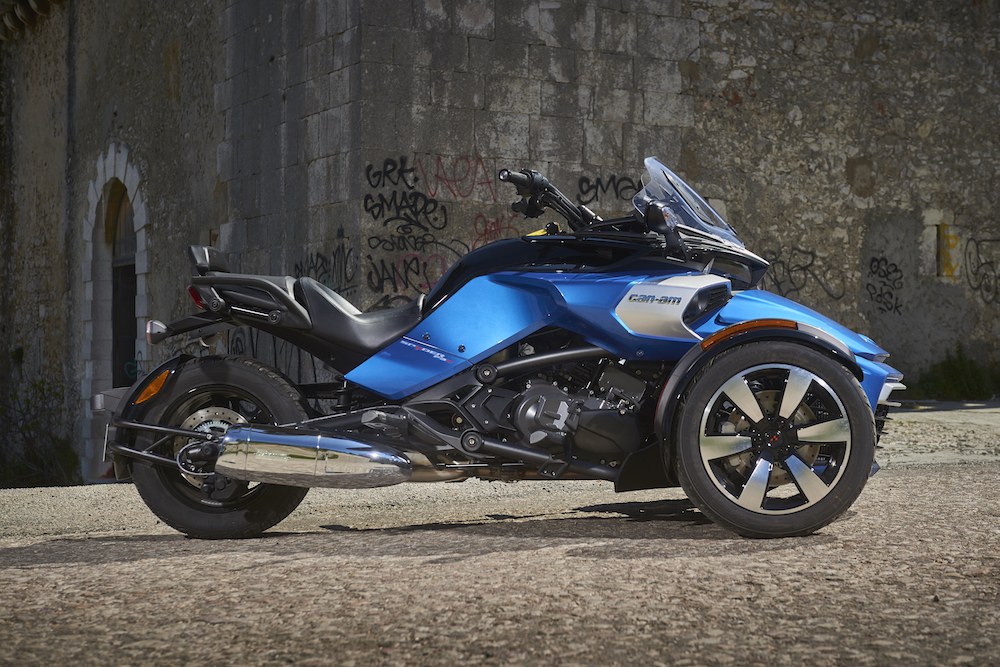 can am spyder roadster see the full range at 158 performance. Black Bedroom Furniture Sets. Home Design Ideas