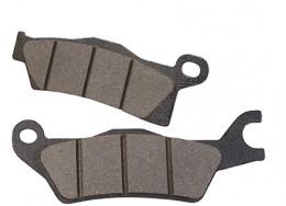 Organic brake pad kit - front and rear right