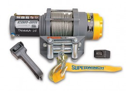 Can-Am Terra 25 winch by Superwinch