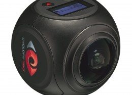 Cyclops 3600 panoramic HD video camera