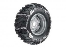 Rear tire chains 27