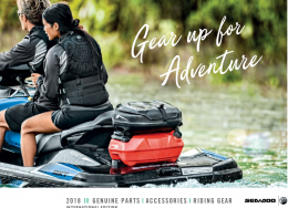 Sea-Doo Accessories, Riding Gear & Genuine Parts