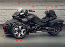 Can-Am Spyder Parts, Accessories and Clothing - 158