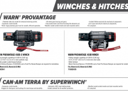 X3 Winches & Hitches