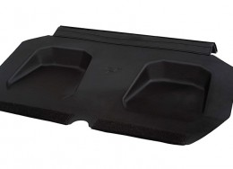 Rear top cargo shelf