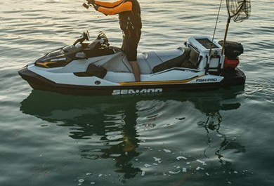 ST3 HULL SEA-DOO FISHPRO