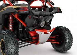Dune Rear Bumper - Can-Am Red