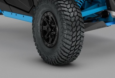 Highly responsive 30-in Maxxis Liberty tyres.