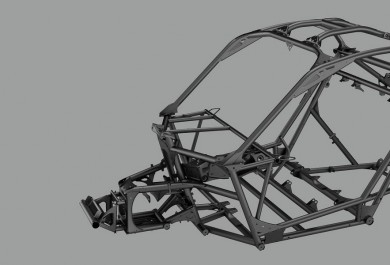 Ultra efficient and lightweight chassis