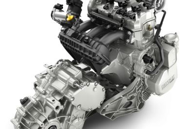 Industry leading 172 hp turbocharged and intercooled Rotax® ACE engine