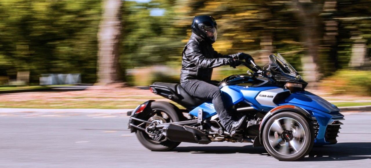 Can-Am Spyder Roadster, see the full range at 158 Performance